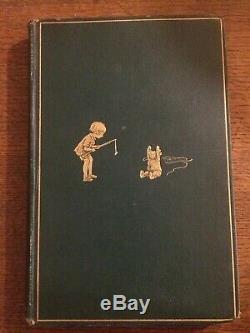Winnie L'ourson 1926 1er Rare 1ère Édition Impression A A Milne Methuen E Shepard