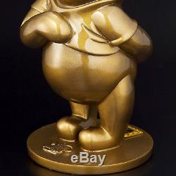 Winnie L'ourson 80e Anniversaire Oversized Bronze Statue Figure Ornement Nouveau