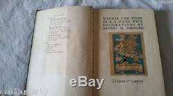 Winnie L'ourson A. A. Milne 1ère Edition Première Impression 1926 Relié Aa