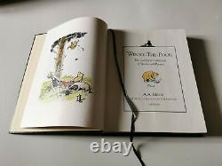Winnie L'ourson, A A Milne, Harrods Édition 41/250 1994, Cuir 1ère Édition