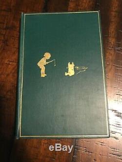 Winnie L'ourson A. A. Milne Première Édition Britannique 1ère Édition 1926 En Dj