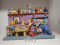 Winnie L'ourson Et Ses Amis Hanukkah Menorah Bougeoir Tigrou Bourriquet Disney