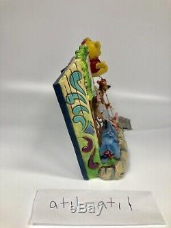 Winnie L'ourson Jim Shore Storybook Hip Hip Ourson-ray Disney Rare