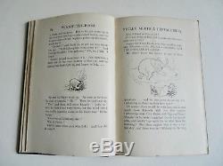 Winnie L'ourson Par A. A. Milne Première Édition 1er / 1er 1926 Near Fine Rare