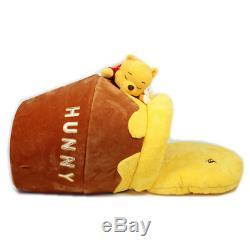 Winnie L'ourson Pot De Miel Disney Chien Chat Canapé Coussin De Lit Maison