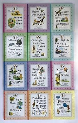 Winnie L'ourson Pour Enfants Livre À Couverture Rigide Lot 12