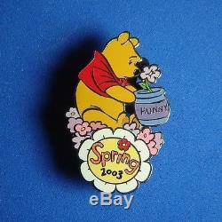 Winnie L'ourson Printemps 2003 Ourson Et Ses Amis Disney Auctions Pin Le 100 Rare