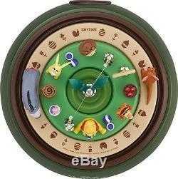 Winnie L'ourson Trick Rotation Horloge Boîte À Musique Glockenspiel Diorama Clockjapan