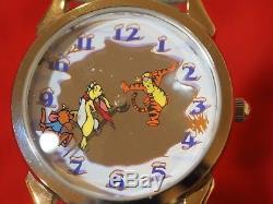 Winnie L'ourson Watch Disney Collectionneurs Club Set Hunny Pot Fossil Ltd Edition