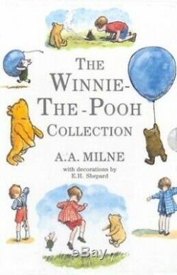 Winnie L'ourson Winnie Collection Complète P. Par Milne, A. A. Livre Relié