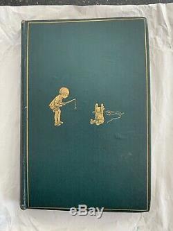 Winnie The Pooh 1926 Première Édition Première Impression Milne