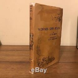 Winnie The Pooh, A A Milne (1926), Methuen, Véritable Première Édition Avec Dj