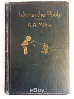 Winnie The Pooh De A A Milne Première Édition Première Impression Ernest H. Shepard 1926