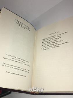 Winnie The Pooh, Édition De 4 Livres, Collectionneurs De A. A. Milne Easton, Set De Presse, Lot