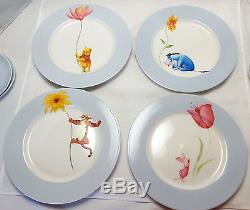 Winnie The Pooh Vaisselle Disney China 4 Complet Place Settings Blue 20 Pc Set