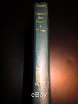 Winnie-the-pooh Ep Dutton 1926 Première Édition Rare